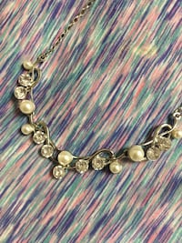 silver-colored beaded necklace Virginia Beach, 23462