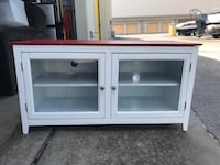 Red & White Tb Cabinet  Houston, 77062