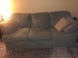 Couch and loveseat.