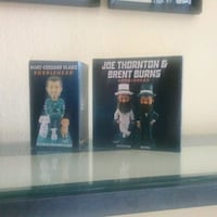 SJ Sharks Bobblehead $45 each Newark, 94560