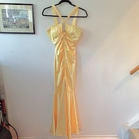Laura petites yellow dress  Toronto, M6E 2G6