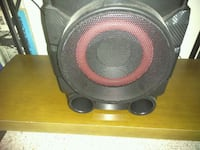 Stereo sound system for home entertainment.