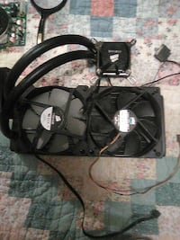 Corsair liquid cooled processor assembly for pc Kennewick, 99337