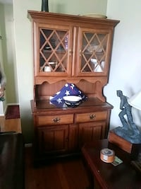brown wooden cabinet with drawer McLean, 22101