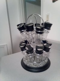 black glass spice condiment shakers set Woodbridge, 22191