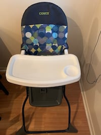 High chair gently used