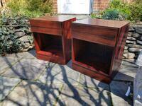 Mid century rosewood nightstands Washington, 20003