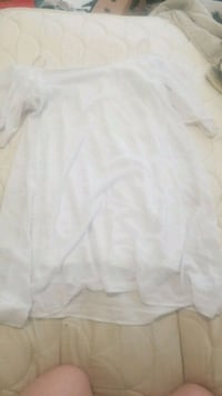 Womens XL white off-the-shoulder dress Portland, 97209