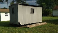 white and black enclosed trailer Suffolk, 23434