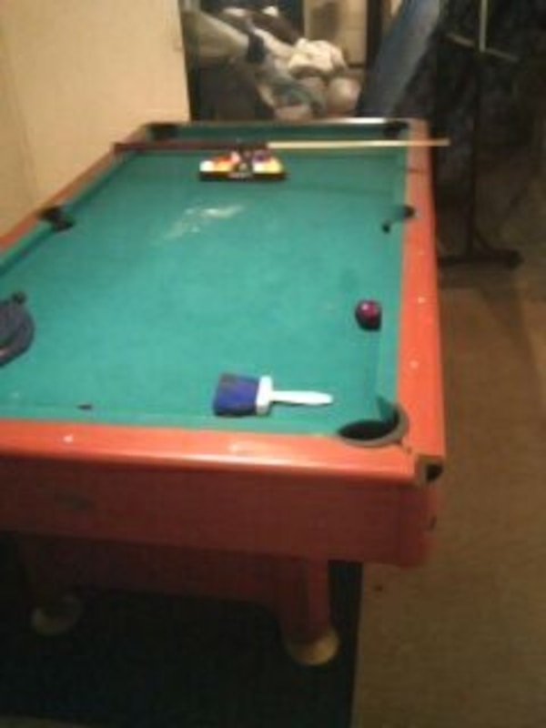 Used Sportcraft Est Pool Table For Sale In Milwaukee Letgo - Sportcraft 3 in 1 pool table