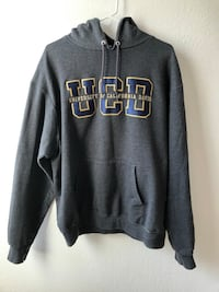 gray and black pullover hoodie Davis, 95616