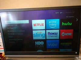 """50"""" LCD Projection TV in great condition!"""