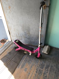 pink and white kick scooter Everett, 02149