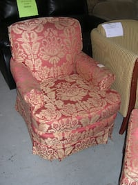 Sofa chair from the Royal York Hotel. Victoria Harbour