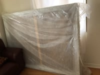 Queen size mattress with box Brampton, L6V 3S1