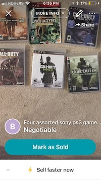 two Sony PS4 game cases Surrey, V3Z 0G9