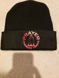 PRAYER CHANGES THINGS WINTER BEANIE HAT.   District Heights, 20747