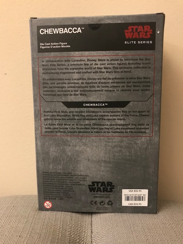 Chewbacca Die Cast Action Figure 513be0d8-5c7f-4d48-a13e-aaa18ef53d59