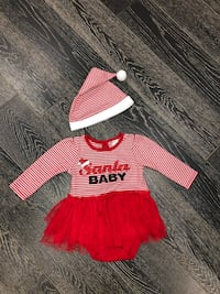 Santa baby outfit $10 Mississauga, L4W 3W3