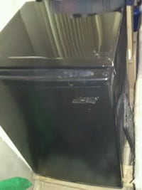 Black Attic King Mini Fridge/Freezer