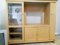 brown wooden cabinet with mirror Summerville
