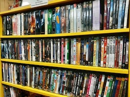 DVD movies romance, comedy, action, horror $4 each over 100 movies
