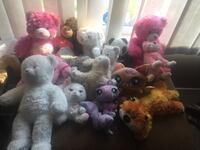 Bag of 19 plush toys  Calgary, T3E 6L9