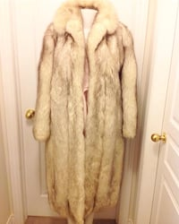 Full length fox fur.  Quality Saga furs on sale 10% off  Richmond Hill, L4E 4S9