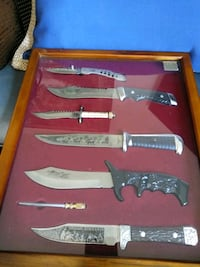Set of hunting knife all original except top knife is replacement  Fairfax, 22033