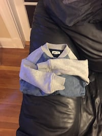 Little boys size 4/5 jean jacket my son didn't wear this one brand new only 15.00 Medford, 02155