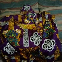 purple, green, and red floral textile Yuma, 85364