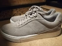 Size 40 Light Gray Leather Sneakers for Women Bergen Municipality