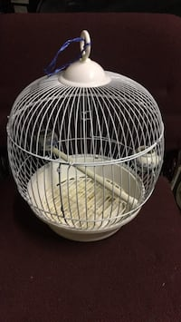 bird Cage for small bird like a canary comes with dishs
