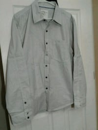 white button-up long sleeve shirt Surrey, V3W 3H3