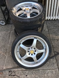 Cooper Tire with Panther Rims