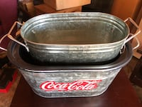 Coca-Cola ice bucket table clots Lockport, 70374