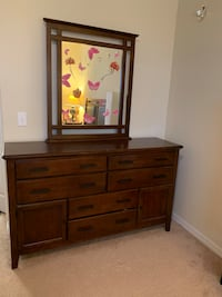 brown wooden dresser with mirror Orlando, 32822