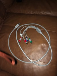 Component cables, component WII cables and RCA cables