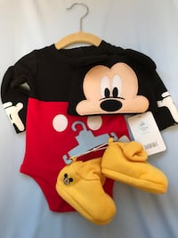 Baby Disney bodysuit costume 3-6 mos Langley, V1M
