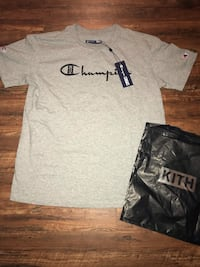 KITH X Champion Logo T-SHIRT w Dustbag Springfield, 65802