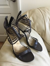 Brown 3inch caged ankle stiletto size 7.5 Los Angeles, 90012