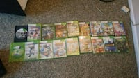 assorted Xbox 360 game cases Wharton, 07885