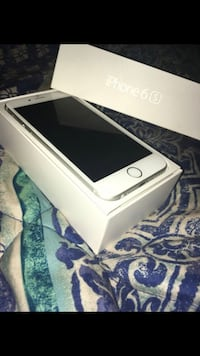Gold iphone 6s with box