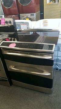 GE slide in smart range electric stove double oven Baltimore