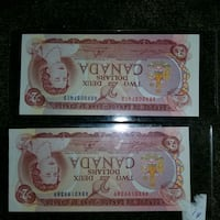 RARE CANADIAN TEST NOTES,REPLACEMENT NOTES  Windsor, N9C 2B4