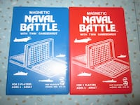 New Vintage Retro Pocket Travel Naval Battle Battleship Style Magnetic Game Winnipeg