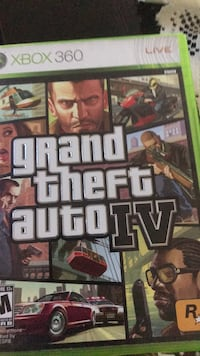 Grand theft auto iv xbox 360 game  Los Angeles, 90019