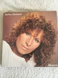 Barbra Streisand Vinyl Record Collection
