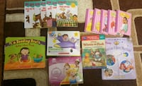 Disney sight words Scooby doo winnie pooh book lot Surrey, V3S