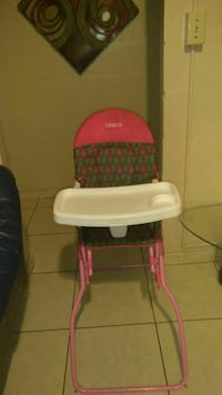 baby's pink and green Cosco highchair Orlando, 32801